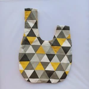 Knot Bag Κίτρινη-Μεσαία